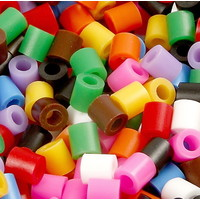 Nabbi strijkkralen basiskleuren mix 20000 stuks
