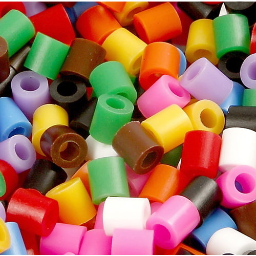 Nabbi Nabbi strijkkralen basiskleuren mix 20000 stuks