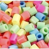Nabbi strijkkralen pastelkleuren mix 20000 stuks