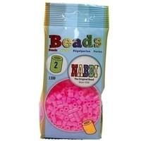 Nabbi strijkkralen neon roze 1100 stuks nr 2