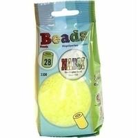 Nabbi strijkkralen neon geel 1100 st nr 28