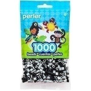 Perler Perler strijkkralen 1000 st Newsprint Striped Mix 15165