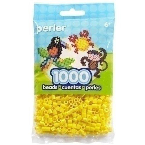 Perler Perler strijkkralen 1000 st Yellow 19003
