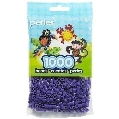Perler Perler midi strijkkralen 1000 st Purple 19007
