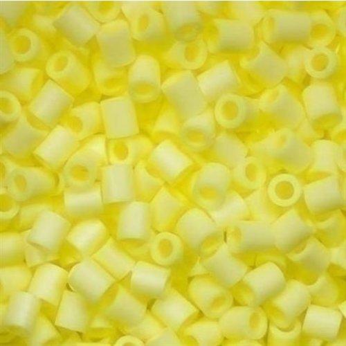 Perler Perler midi strijkkralen 1000 st pastel geel 19056