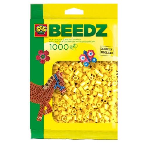 Ses Ses strijkkralen geel 1000 st 00701