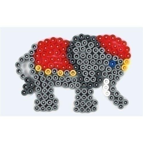 Hama Hama strijkkralen grondplaat olifantje 319
