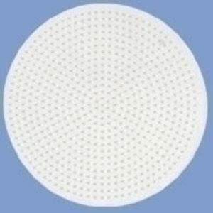 Hama Hama strijkkralen Grondplaat Rond groot wit 221