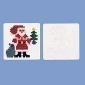 Hama Hama Strijkkralen Grondplaat Kerstman 284