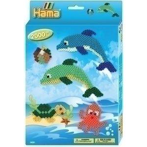 Hama Hama strijkkralen dolfijnen 3435