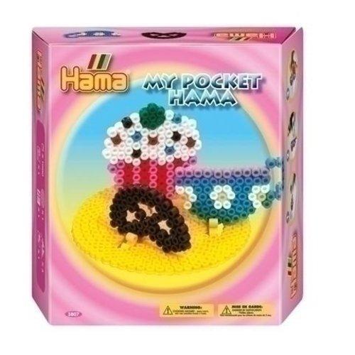 Hama Hama strijkkralen My Pocket Cupcake 3807