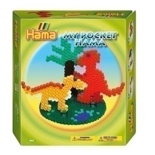 Hama Hama strijkkralen My Pocket Dino 3805