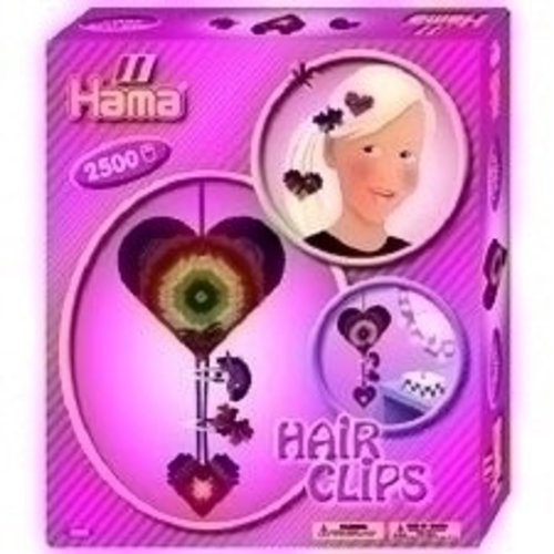 Hama Hama strijkkralen Hair Clips 3225