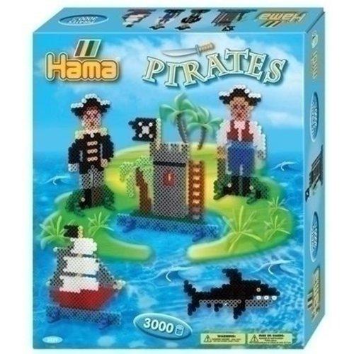 Hama Hama strijkkralen Piraten 3229