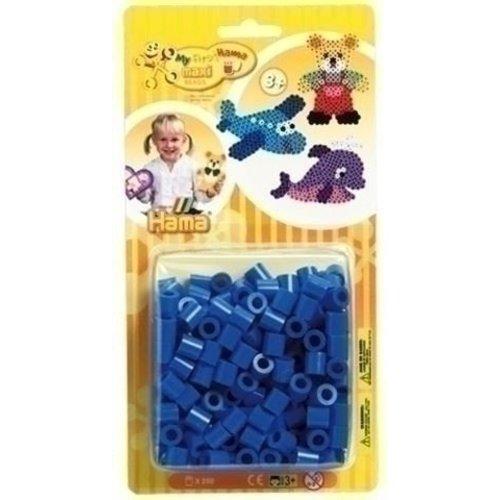 Hama Hama maxi strijkkralen blauw 250 stuks 8609