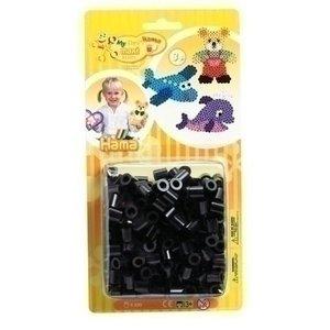 Hama Hama maxi strijkkralen zwart 250 stuks 8618