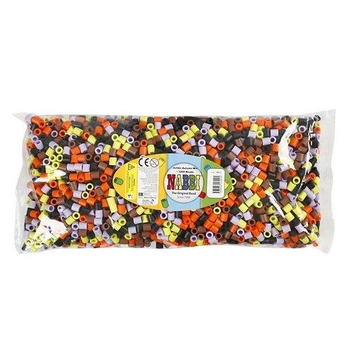 Nabbi Nabbi Jumbo Strijkkralen 3200 Herfstkleuren