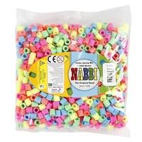 Nabbi Jumbo strijkkralen Pastelkleuren 1000 stuks