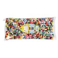 Nabbi Jumbo Strijkkralen 3200 st Mix 15 kleuren