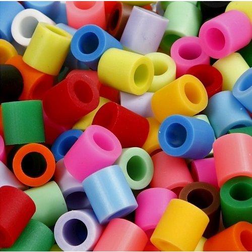 Nabbi Nabbi Jumbo Strijkkralen 3200 st Mix 15 kleuren