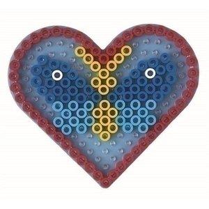 Hama Hama maxi strijkkralen grondplaat hart 8206