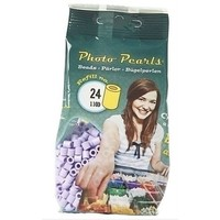 PhotoPearls strijkkralen paars pastel 1100 st nr24