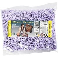 Photopearls strijkkralen paars pastel 6000 stuks