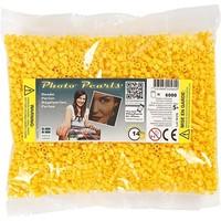 Photopearls strijkkralen geel 6000 stuks nr 14