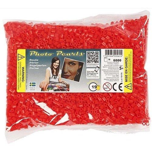 PhotoPearls PhotoPearls strijkkralen rood 6000 stuks nr 19
