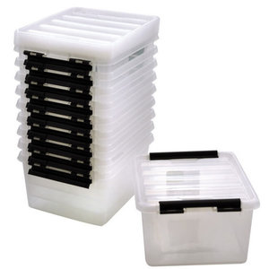 Playbox Kunststof opbergbox met deksel 8 liter