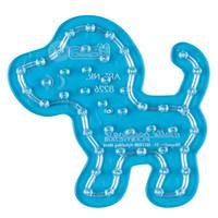 Hama maxi strijkkralen grondplaat hondje