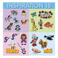 Hama Strijkkralen Inspiratie Boekje nr 18