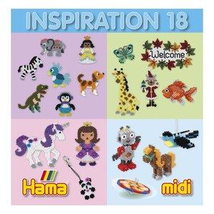 Hama Hama Strijkkralen Inspiratie Boekje nr 18