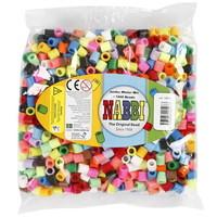 Nabbi maxi strijkkralen 15 kleuren mix 1000 stuks