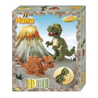 Hama strijkkralen Set 3D Dino 3250