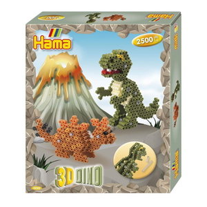 Hama Hama strijkkralen Set 3D Dino 3250