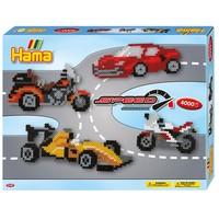 Hama strijkkralen Cadeauset Auto's 4000 delig