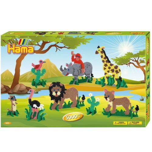 Hama Hama Strijkkralen Set Safari 6000 delig