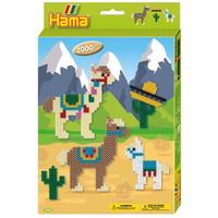 Hama strijkkralen Cadeauset Alpaca's 2000 delig