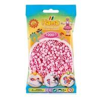 Hama midi strijkkralen roze pastel 1000 stuks