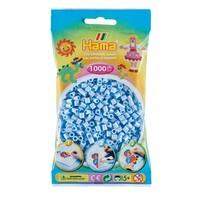 Hama midi strijkkralen pastel ijsblauw nr 97 1000 stuks
