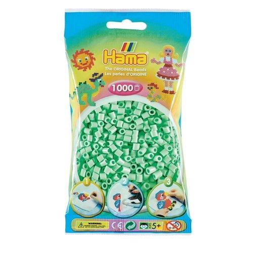 Hama Hama midi strijkkralen pastel mint nr 98 1000 stuks