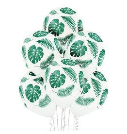 Belbal latex ballon tropic leaves 6 stuks