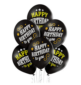 Belbal latex ballon happy birthday to you 6 stuks