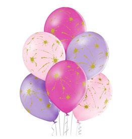 Belbal latex ballon splatters 6 stuks