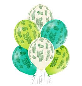 Belbal latex ballon cactus 6 stuks