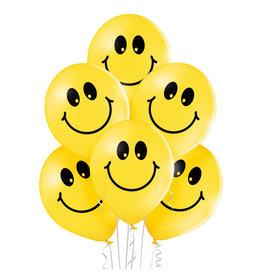 Belbal latex ballon smileys 6 stuks
