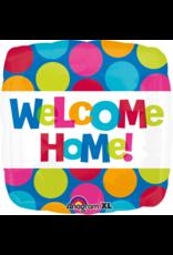Amscan folieballon Welcome Home big dots 43 cm