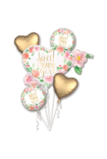 Amscan folieballonpakket Sweet baby girl 5-delig