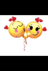 Amscan folieballon supershape emoiji love 91 x 53 cm